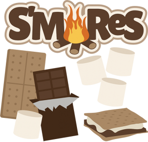 S'mores SVG files for scrapbooking cards camping svg files smore svg file smores svg files svg cuts