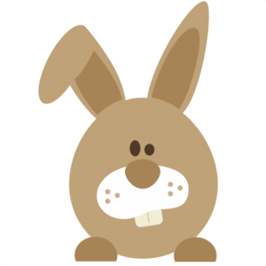 Easter Bunny SVG file for scrapbooking cards free svgs free scut files free scal files