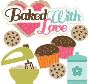 Baked With Love SVG files for cutting machines cupcake svg file baking svg files cookie svgs free svgs