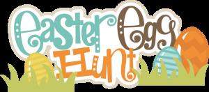 Easter Egg Hunt SVG scrapbook title easter eggs svg file easter svgs cute svg cuts free svgs
