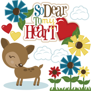 So Dear To My Heart SVG files for electronic cutting machines svg files free svgs deer svg file