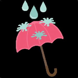 Rainy Day Umbrella SVG file for scrapbooking cardmaking free svg files free svgs free svg cuts