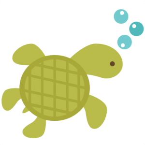 Sea Turtle SVG scrapbook files ocean svg files underwater svg file svg cut files sea turtle svg file