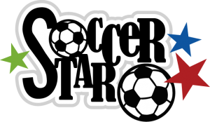 Soccer Star SVG scrapbook title soccer svgs soccer svg files soccer svg cuts for cutting machines free svgs