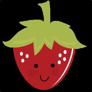 Cute Strawberry SVG file for cutting machines free svg files free svgs strawberry svg files for cutting machines