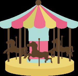 Carousel SVG cutting file carousel svg file for cutting machines carousel svg cut file cute svg cuts