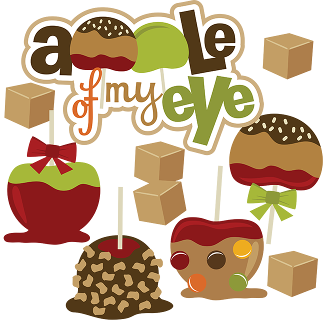 caramel apple clipart images - photo #12