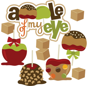 Apple Of My Eye SVG apple svg file svg files for scrapbooking cute clipart fall svg cut files
