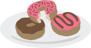 Plate Of Donuts SVG files for scrapbooking donut svg file for cutting machines free svgs
