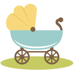 Baby Carriage SVG file for scrapbooking crafts baby svg files baby svg cut files for cutting machines