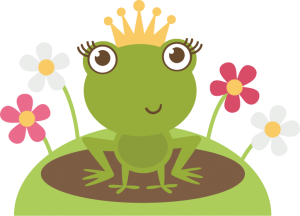 Frog Princess SVG cutting file frog princess svg file for scrapbooking frog svg cut file free svg cuts