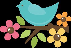 Bird On Twig SVG cut file for scrapbooking svg files bird svg cut files for cutting machines