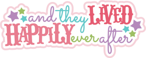 And They Lived Happily Ever After SVG scrapbook title princess svg scrapbook title free svgs