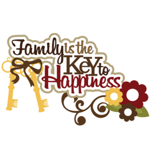 Family Is The Key To Happiness SVG scrapbook title family svg scrapbook title free svg cuts