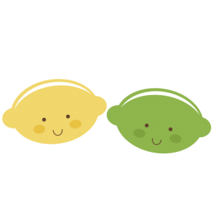 Cute Lemon & Lime SVG files for scrapbooking cute lemon svg file cute lime svg file free svg cuts