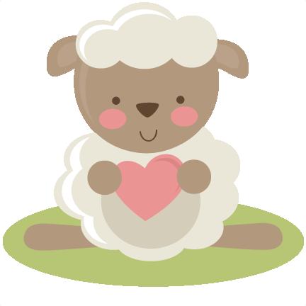 Cute Lamb SVG file for scrapbooking lamb svg cut file free ...