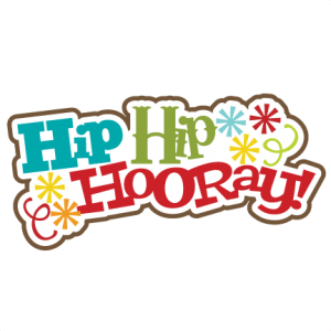 Hip Hip Hooray! SVG scrapbook title birthday svg scrapbook title birthday svg files free svgs