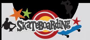 Skateboarding SVG scrapbook title skateboard svg file skateboard svg cut file skateboard cut file