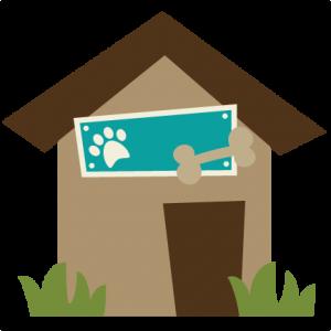 Dog House SVG file for scrapbooking dog house svg cut file dog house cut file for cutting machines