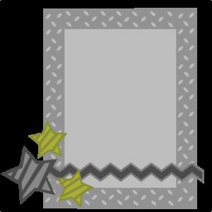 Metal Frame SVG file zig zag border svg file military svg cut files military svg files for scrapbooking