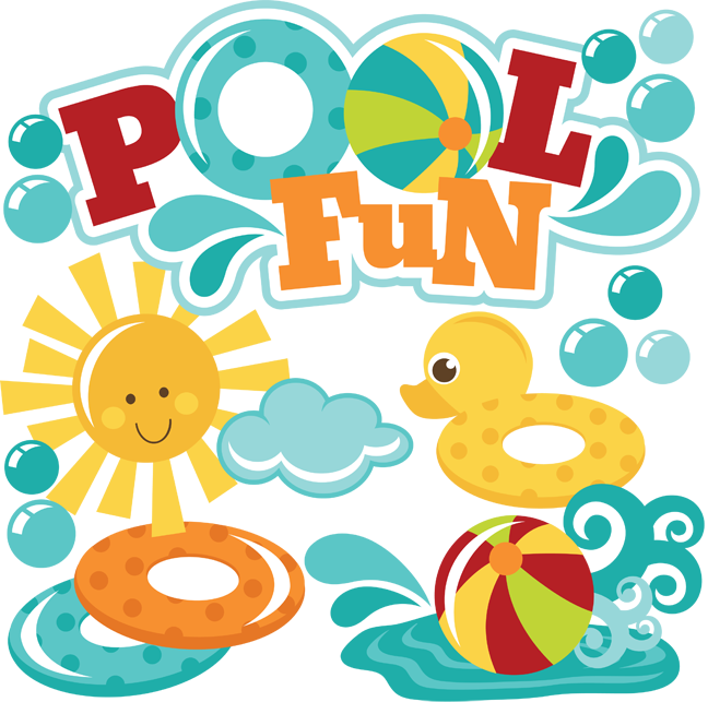 Pool Fun SVG Files For Scrapbooking Pool Svg Files Beach