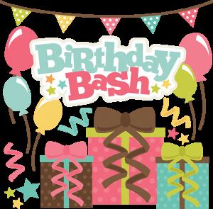 Birthday Bash SVG scrapbook file free svg files free svg cuts free cute files for scrapbooking