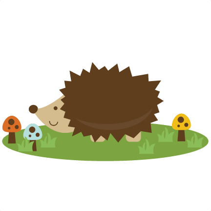 Cute Hedgehog SVG file for scrapbooking cutting machines hedgehog svg ...