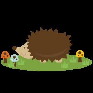 Cute Hedgehog SVG file for scrapbooking cutting machines hedgehog svg cut file cute hedgehog clipart