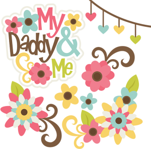 My Daddy & Me SVG files for scrapbooking family svg cut files family svg files free svg files