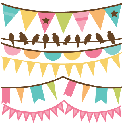 Spring Banners Svg Files For Scrapbooking Banner Svg Files