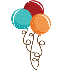 Polka Dot Balloon Bouquet SVG file balloon svg file cute balloons svg files birthday svg cut files free svgs