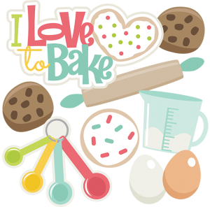 I Love To Bake SVG files for scrapbooking cookie svg file rolling pin svg file sugar cookie svg file