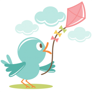 Bird Flying Kite SVG cut file for scrapbooking bird svg file free svg files freebie of the day svg cut file