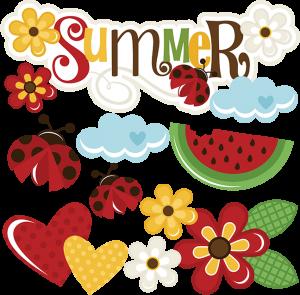 Summer SVG scrapbook title summer svg files flower svg file flower svg file cute svg cuts free svgs