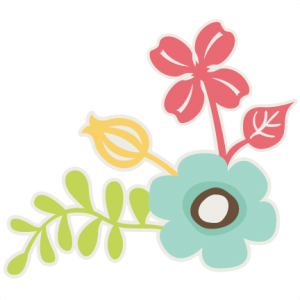 Corner Flowers SVG files for scrapbooking flower svg cut files flower cut files free svgs free svg cut files