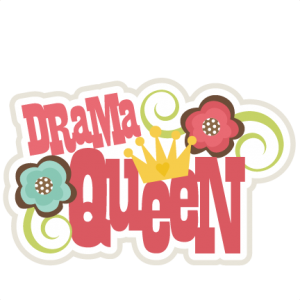 Drama Queen SVG scrapbook title drama queen svg cut file scrapbook title svg files free svgs