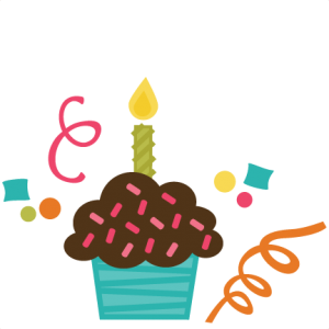 Cupcake SVG cut files for scrapbooking birthday svg files