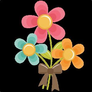 Flower Bouquet SVG cut file for scrapbooking cardmaking flower svg file free svgs free svg cuts