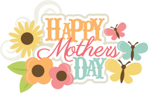 Happy Mother's Day SVG scrapbook title mothers day svg file mothers day svg scrapbook title