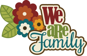 We Are Family SVG scrapbook title family svg cut files free svgs flower svg files family svgs