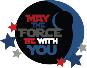 May The Force Be With You Title SVG cut files svg files for scrapbooking free svgs