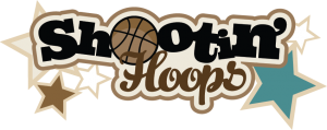 Shootin' Hoops SVG scrapbook title basketball svg file basketball svg scrapbook title free svgs