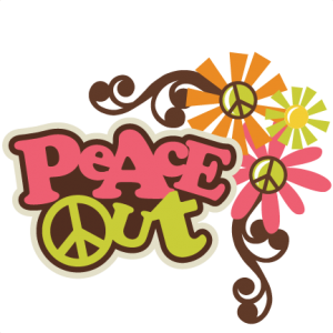 Peace Out SVG scrapbook title peace sign svg file flower svgs free svg cut files free svg cuts