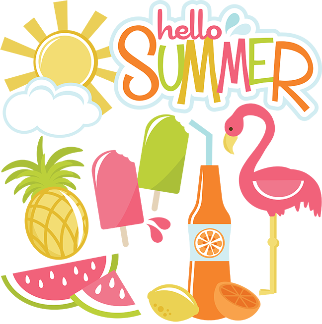 Hello Summer SVG files for cutting machines sun svg file cloud svg file summe...