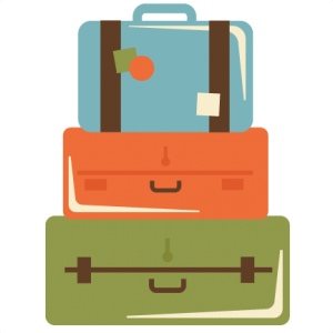 Stacked Suitcases SVG cut files suitcase svg files for scrapbooking vacation svg files free svgs