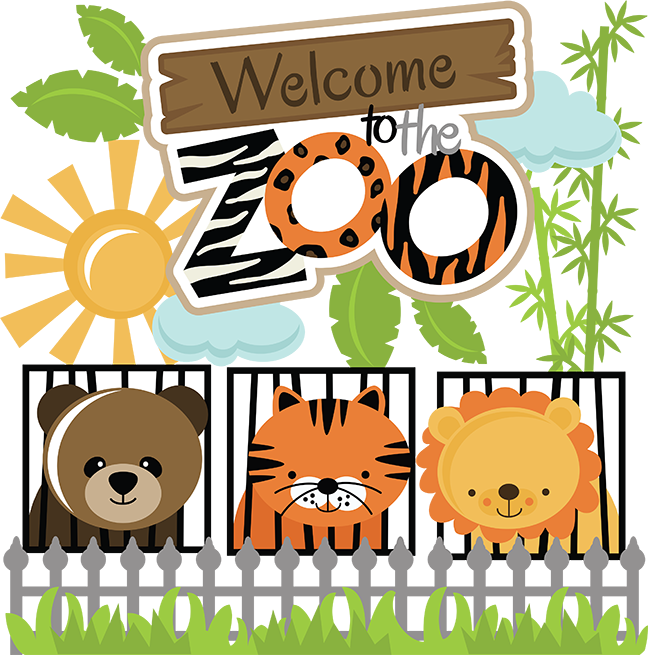 Welcome To The Zoo SVG cut files for scrapbooking zoo svg ...