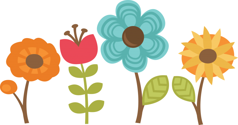 free scrapbook flower clipart - photo #21