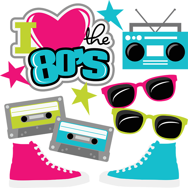 i heart the 80 s svg cut files for scrapbooking 80 s svg ice skating clipart ice skate clip art free
