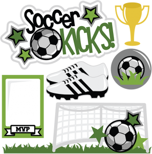 Soccer Kicks SVG scrapbook title soccer svgs soccer svg files soccer svg cuts for cutting machines free svgs