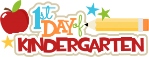 1st Day Of Kindergarten SVG scrapbook title pencil svg file free svgs school svg cut files